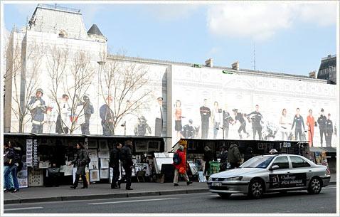 Обновление достопримечательностей в Париже