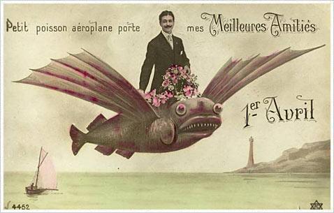 День первоапрельской рыбы
