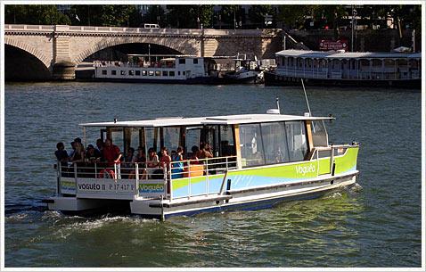 Речное такси скоро появится в париже