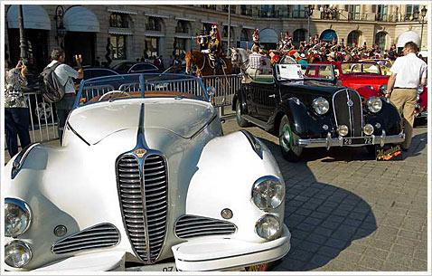 Ралли старинных автомобилей