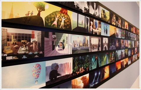 Выставочные стенды Pixar