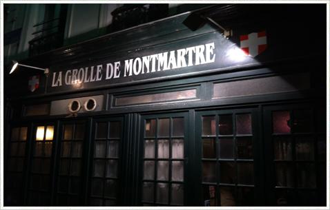 La Grolle de Montmartre