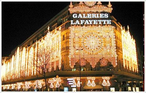 Рождество в Галерее Лафайет