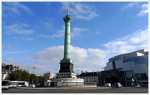 Бастилия в Париже