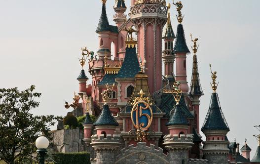 Диснейленд в Париже. Замок Спящей красавицы.