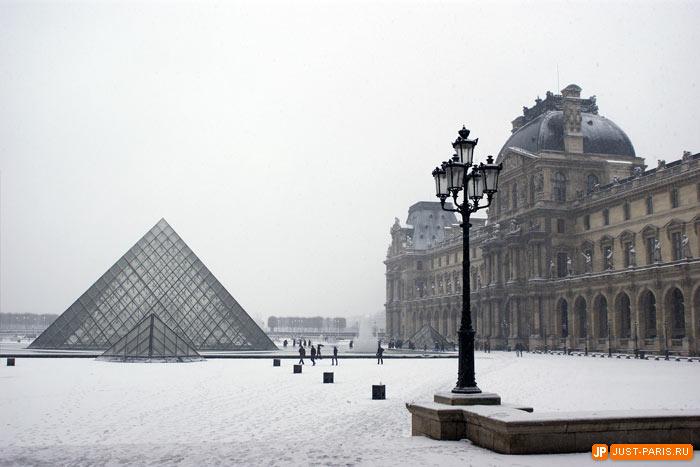 Картинки про париж зимой
