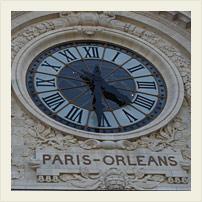 Часы старого вокзала
