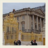 Ворота во дворец, Версаль