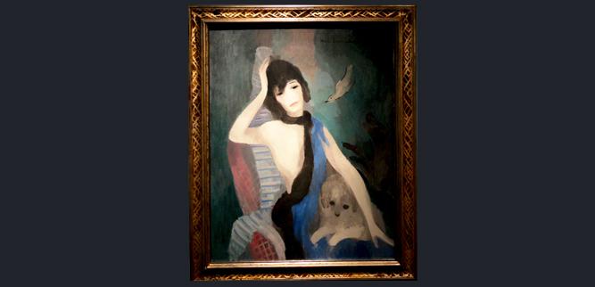 Музей Оранжери - портрет Коко Шанель