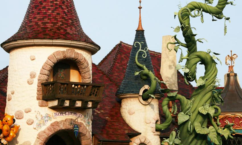 Диснейленд - Страна фантазий (Fantasyland)