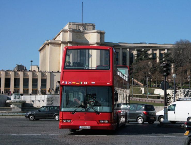 Автобусные экскурсии по Парижу