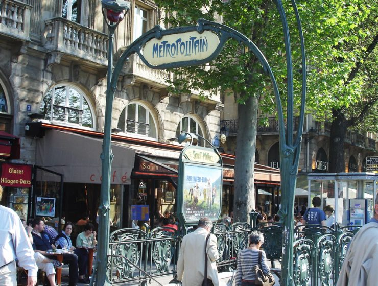 Транспорт в Париже
