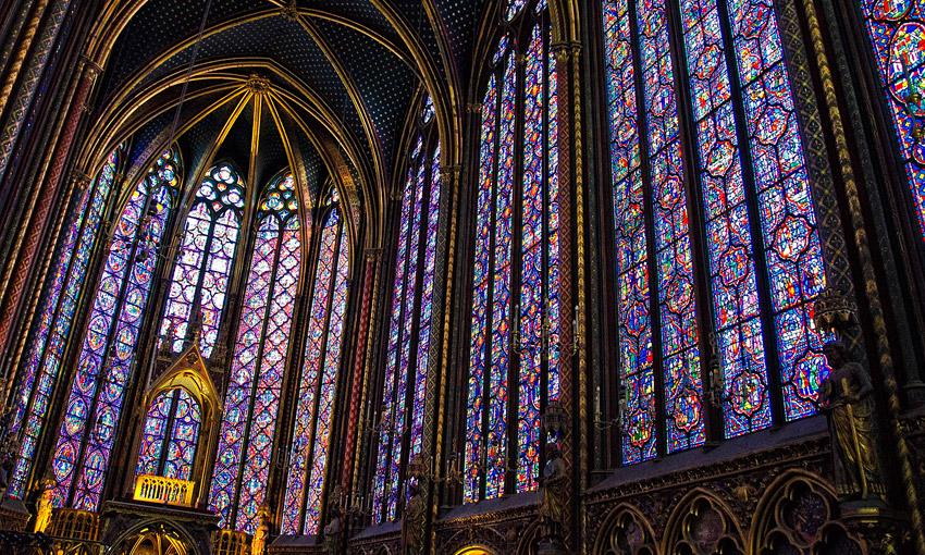Сент-Шапель в Париже