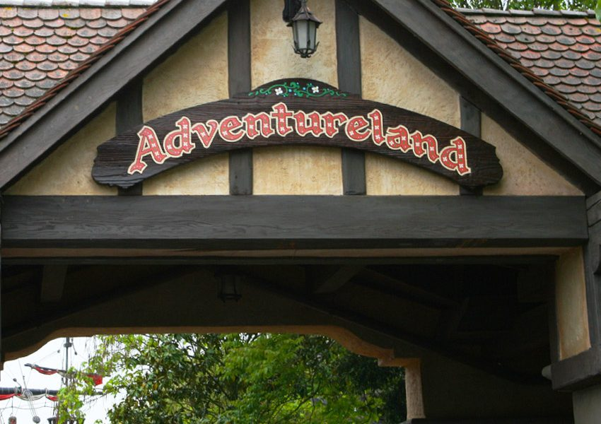 Диснейленд, Страна приключений (Adventureland)