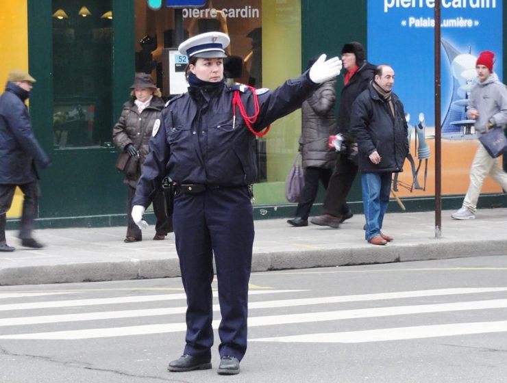 О безопасности в Париже