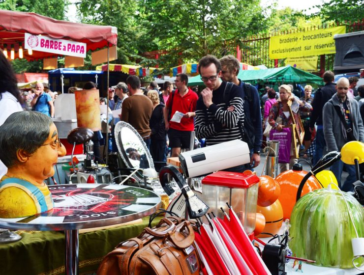 Блошиный рынок в Лиле