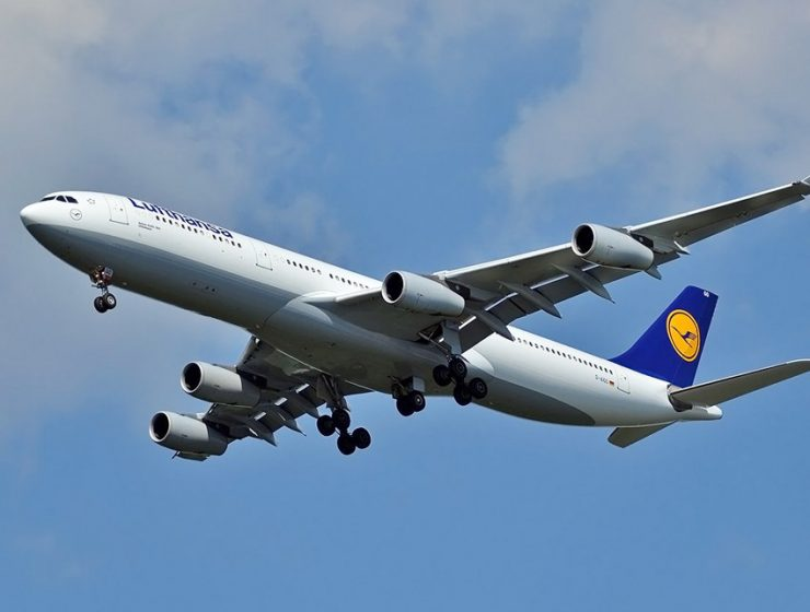 Распродажа билетов в Париж и Ниццу у Lufthansa