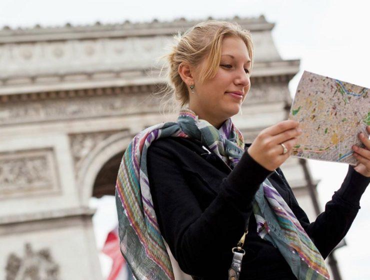Карты Парижа