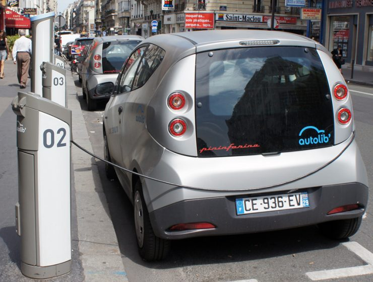 Сервис краткосрочного проката автомобилей