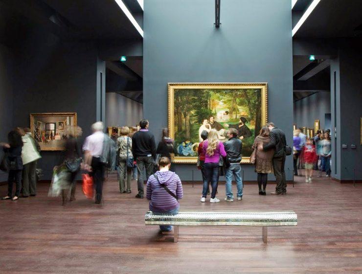 Про художественные музеи в Париже