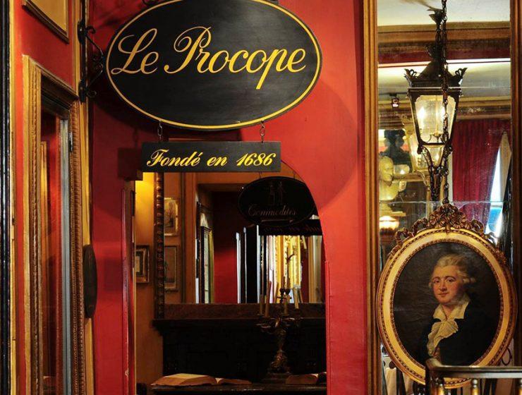 Старейшее парижское кафе Le Procope