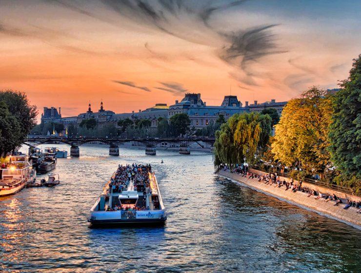 Круизы по Сене в Париже