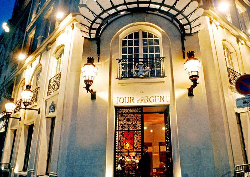 Ресторан Серебрянная башня в Париже