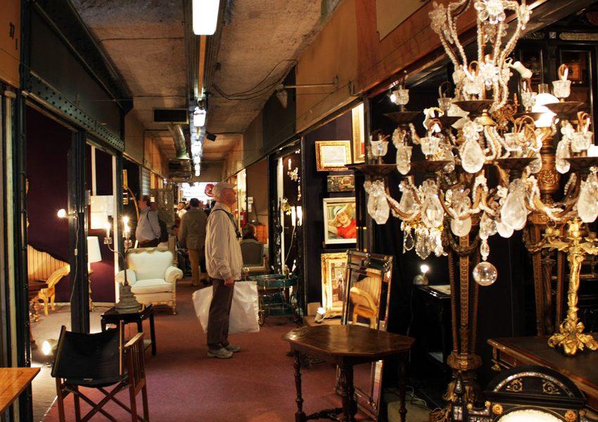 Блошиные рынки Парижа