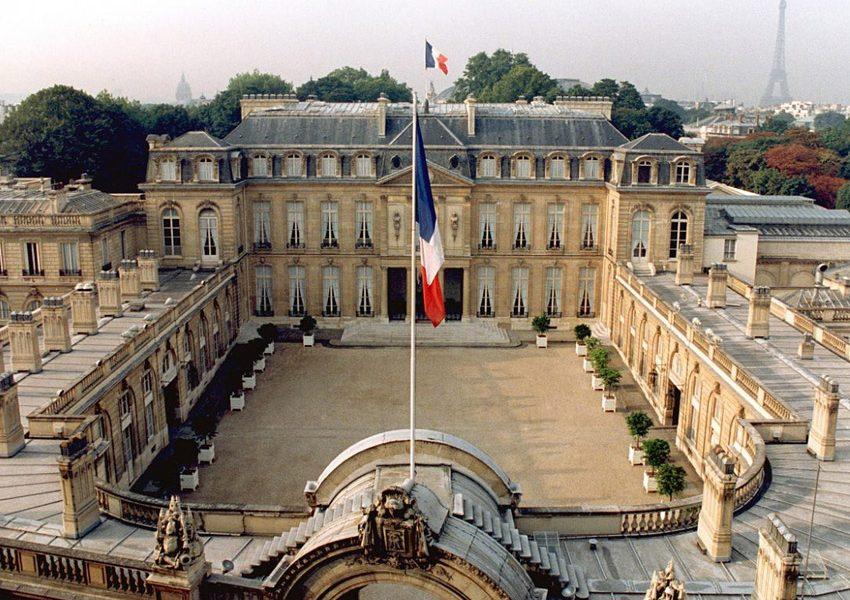 Елисейский дворец в Париже