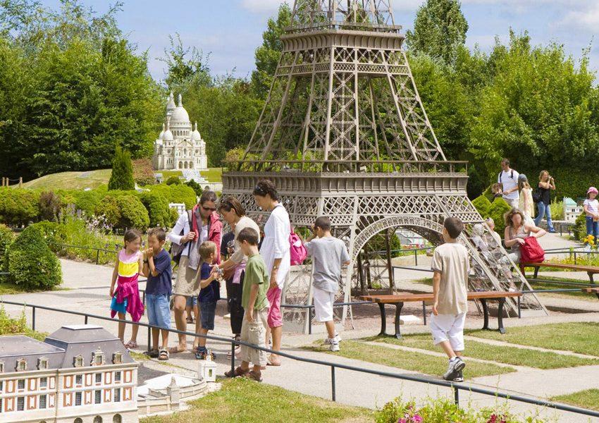 Парк Франция в миниатюре под Парижем