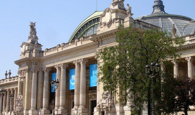 Большой дворец (Grand Palais) в Париже