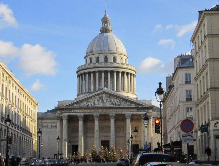 Пантеон (Pantheon) в Париже