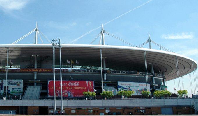 Стадион Стад де Франс в Париже