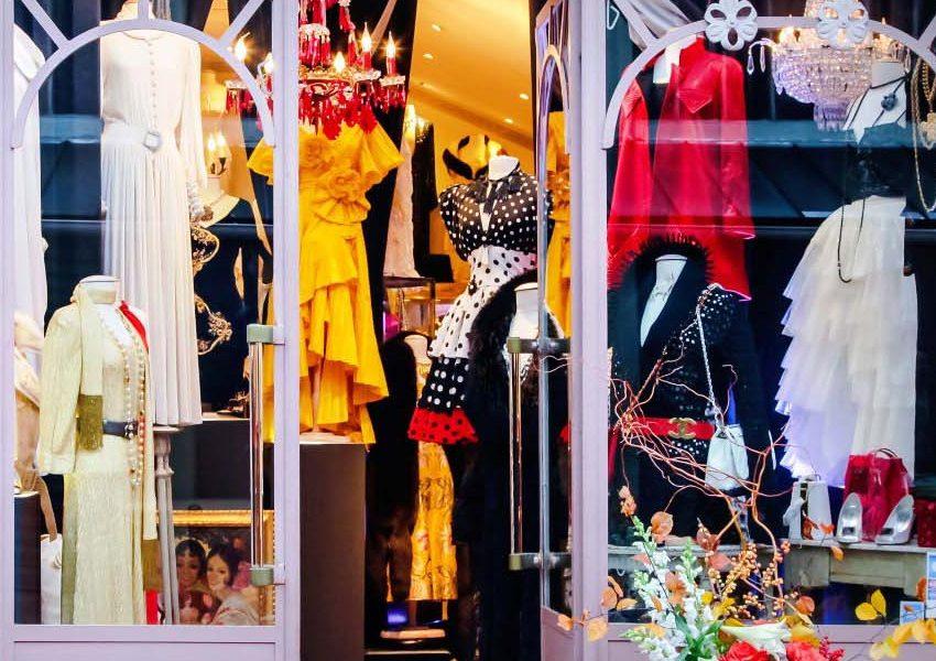 Стоковые магазины Парижа