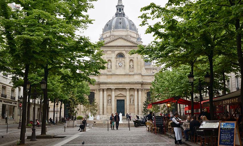она показала парижский университет фото просто выдержало