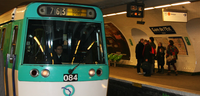 Как пользоваться метро в Париже - Станция назначения поезда