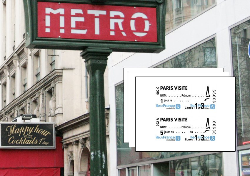 Единый проездной билет Paris Visite Pass