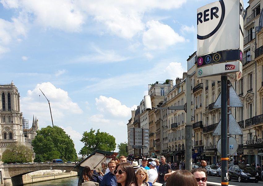Чем отличается метро от RER в Париже