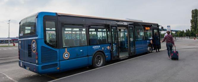 Городской автобус в Бове из аэропорта