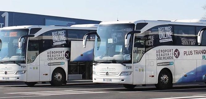 Автобусы-экспрессы из аэропорта Бове в Париж