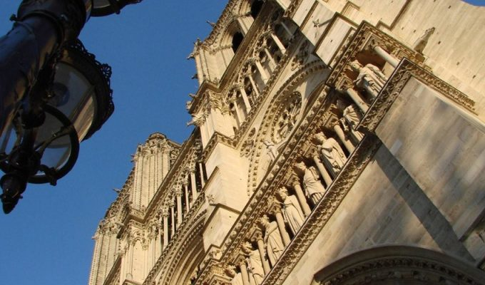 В Париже начата реставрация большого органа Нотр-Дам де Пари